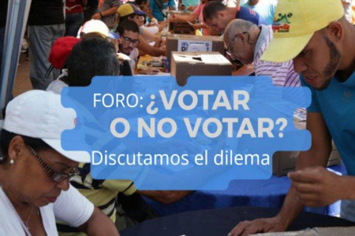 Voto y oposición, por Simón García