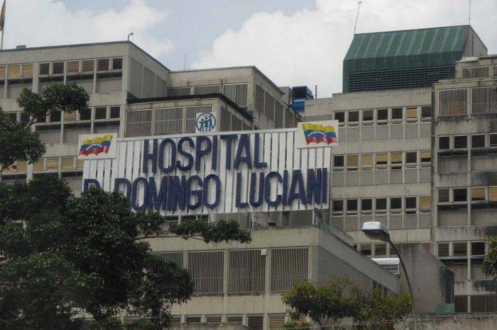 Domingo Luciani oxígeno