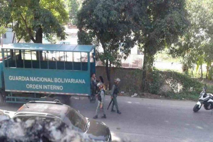 Dos heridos y 20 detenidos dejaron protestas en Cumaná
