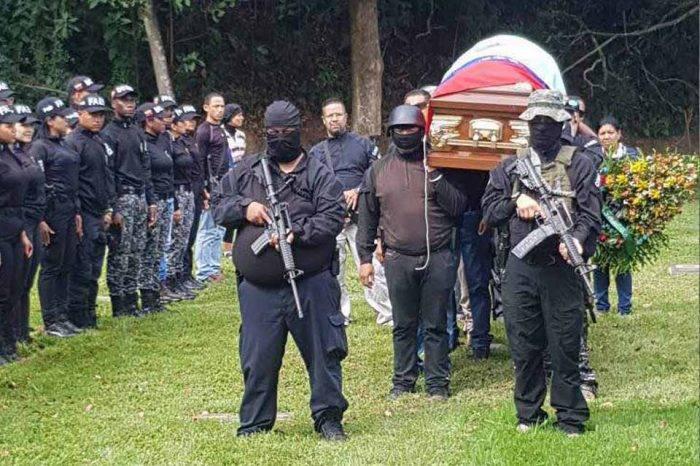 Heiker Vásquez entierro