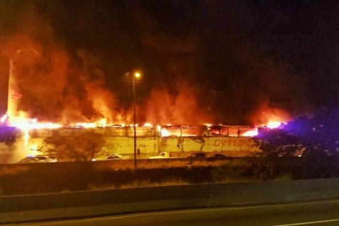 Reportan incendio en galpón de Quinta Crespo