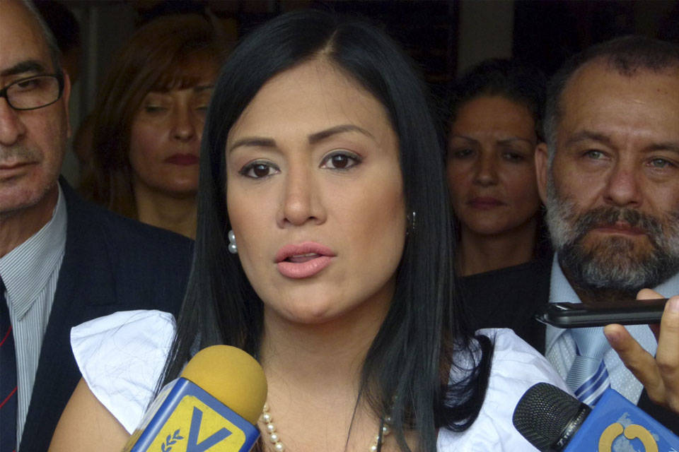 laidy gómez - gobernadora del táchira FAES
