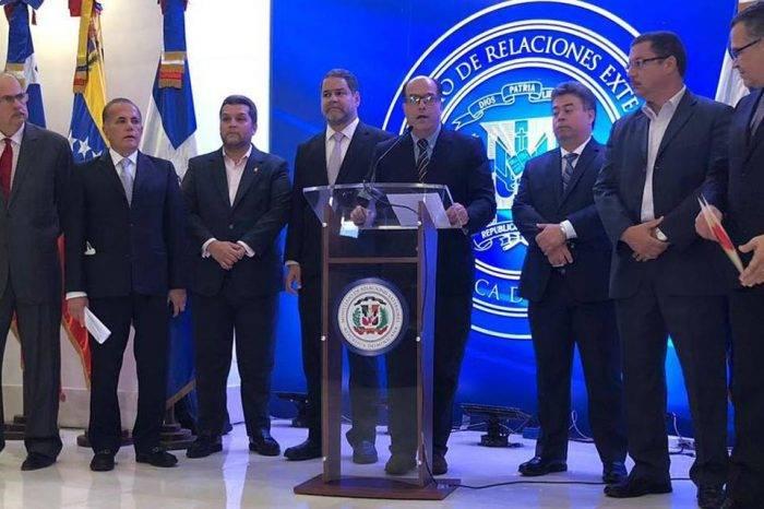 Delegación de la MUD en negociaciones de R. Dominicana