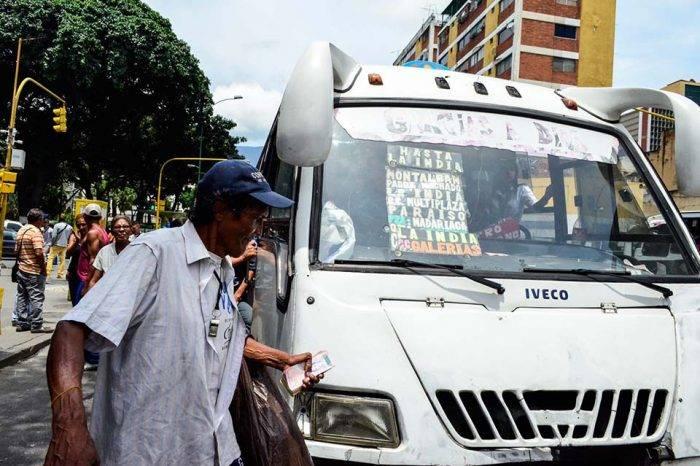Pasaje urbano legal se establece en 70 bolívares