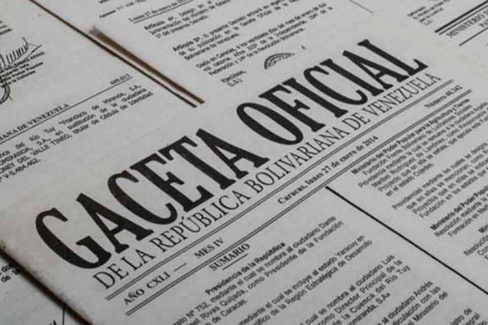Nuevo convenio cambiario fue publicado en Gaceta Oficial