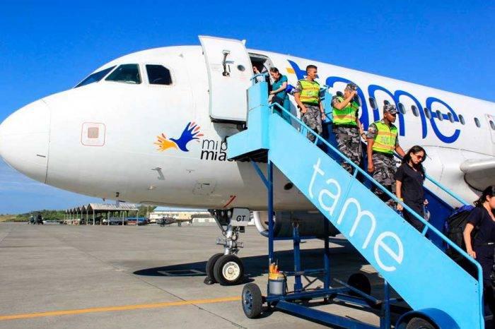 Aerolínea ecuatoriana Tame cesa sus operaciones en Venezuela