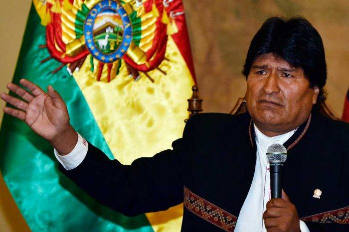 Evo pide no hablar de Venezuela en la OEA alegando que no pertenece al organismo