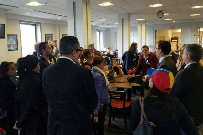 Exiliados venezolanos piden al Congreso de EEUU la intervención humanitaria