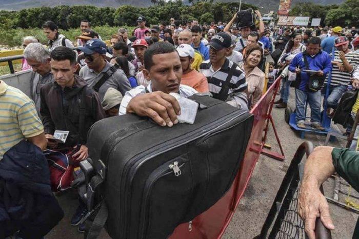 Migración venezolana frontera