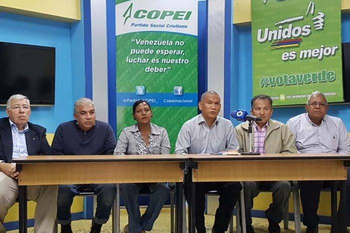 Copei Junta Ad Hoc Pedro Urrieta
