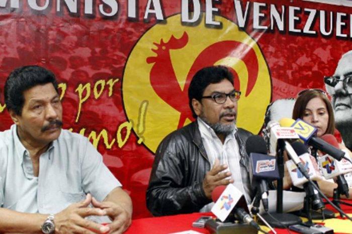 Óscar Figuera Partido Comunista PCV