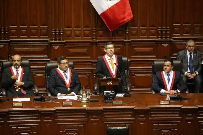 Presidente Congreso de Perú Luis Galarreta Velarde