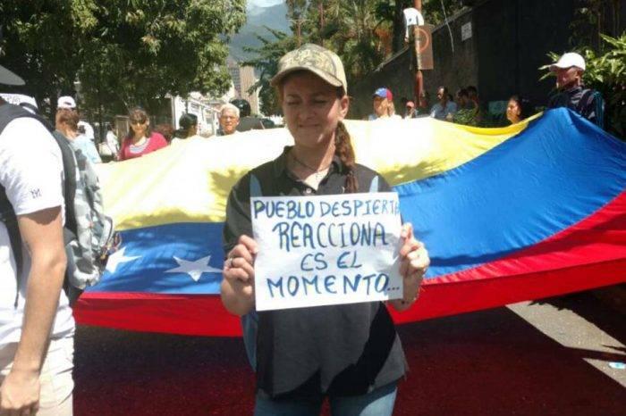 Sociedad civil marchó nuevamente por una postulación presidencial de Lorenzo Mendoza