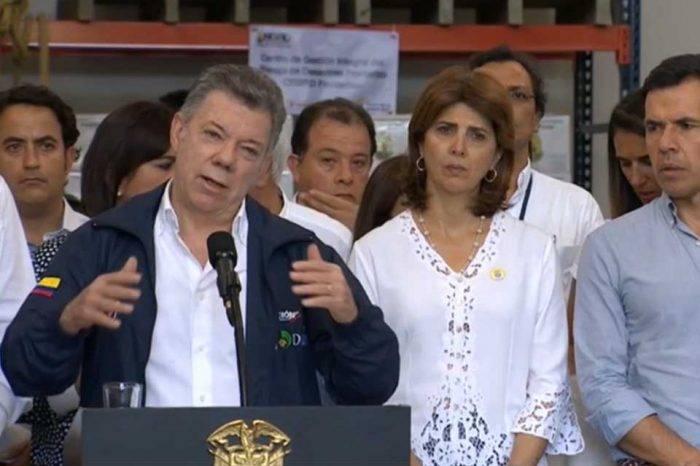 Juan Manuel Santos Colombia