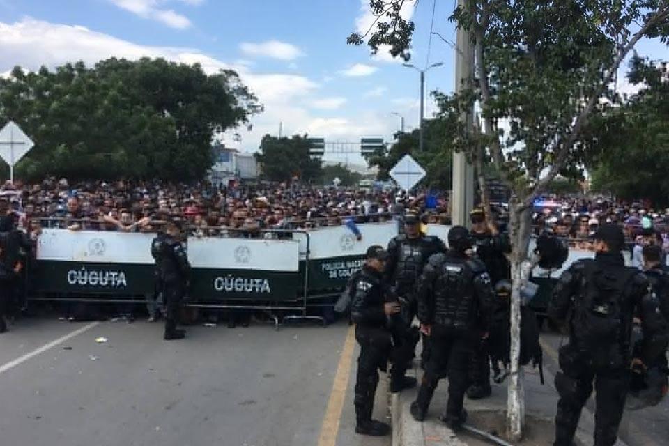 Frontera Colombia Venezuela Cúcuta