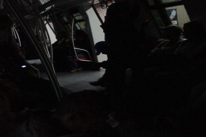 Linea 2 y 4 del Metro de Caracas se quedaron sin luz, un día después de ser activadas