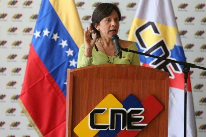 Sandra Oblitas CNE