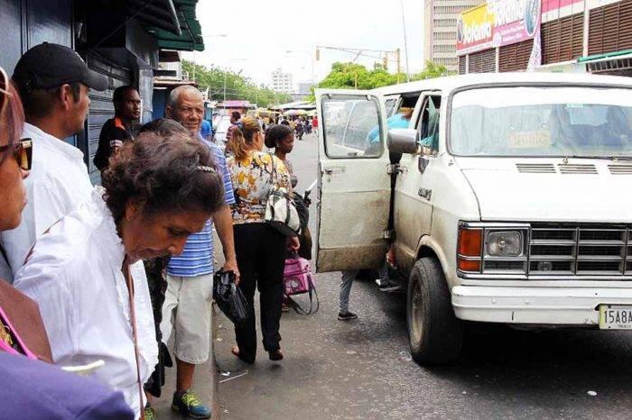 Transporte público camionetas