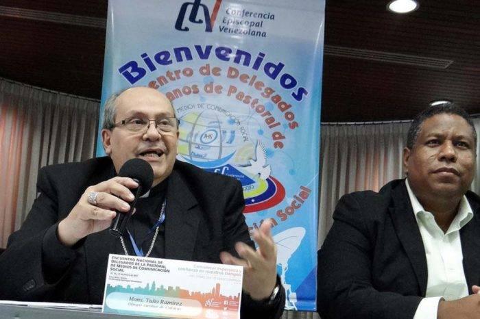Monseñor Tulio Ramírez obispo auxiliar de Caracas