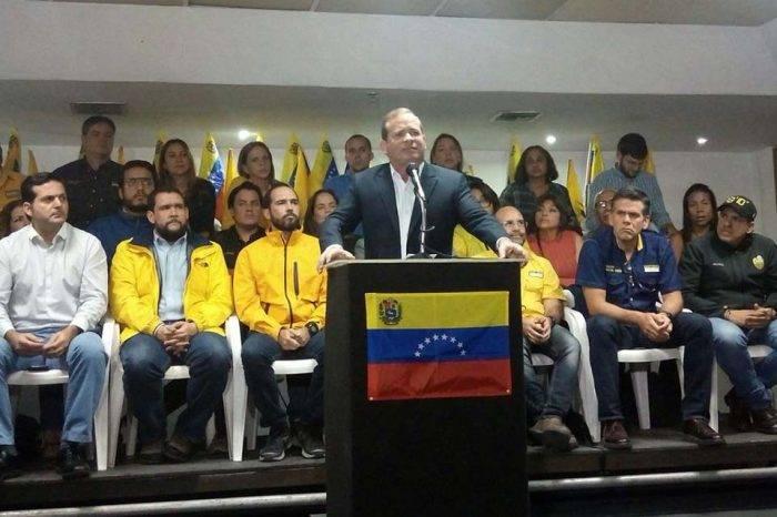 """Oposición llama a un acto el 21 de mayo para desconocer la """"farsa electoral"""""""