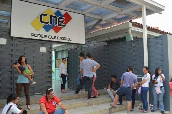 Registro Electoral CNE Oficina Regional Valencia