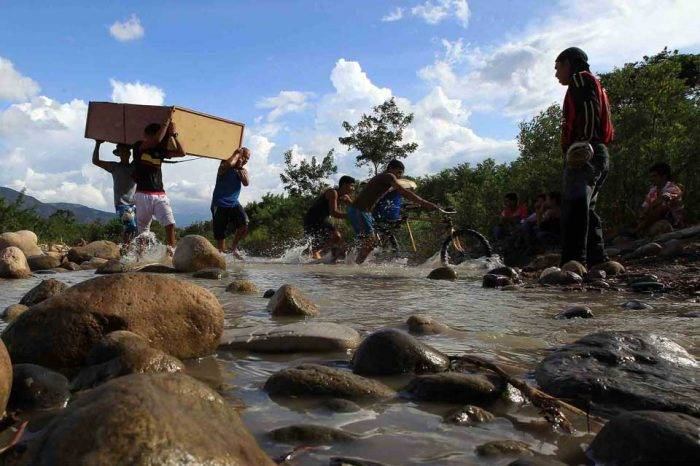 Trocha frontera Colombia Venezuela