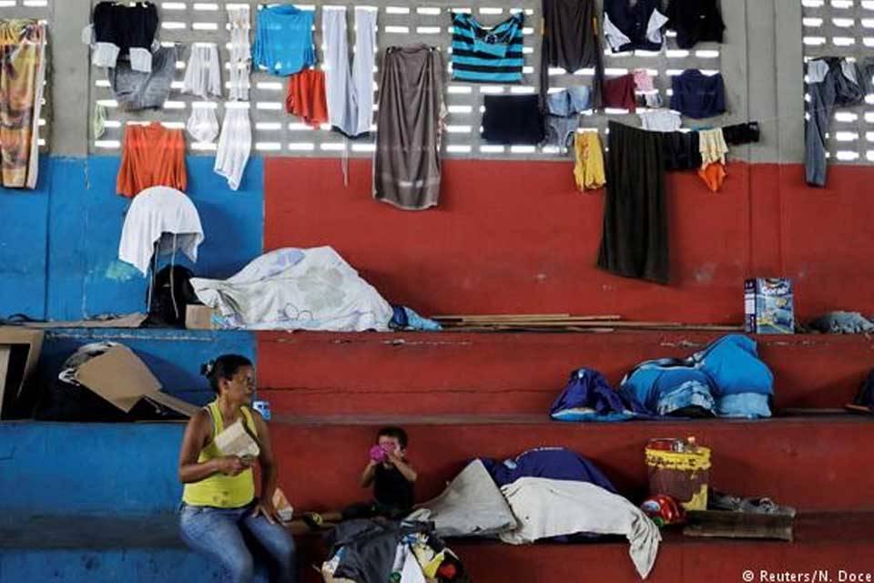 Migrantes venezolanos Brasil Roraima