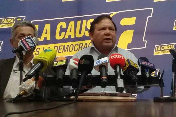 """La Causa R asevera que Henri Falcón engaña """"para dividir a la oposición"""""""