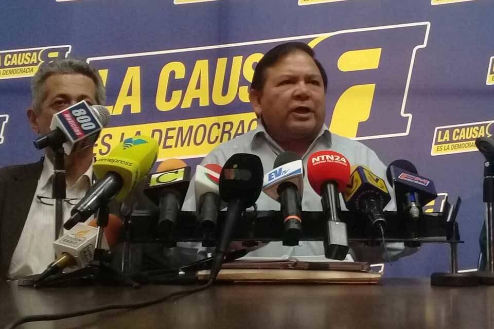 Andrés Velásquez La Causa R