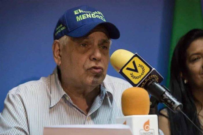 Enrique Mendoza: La prioridad debe ser un CNE transparente y equilibrado