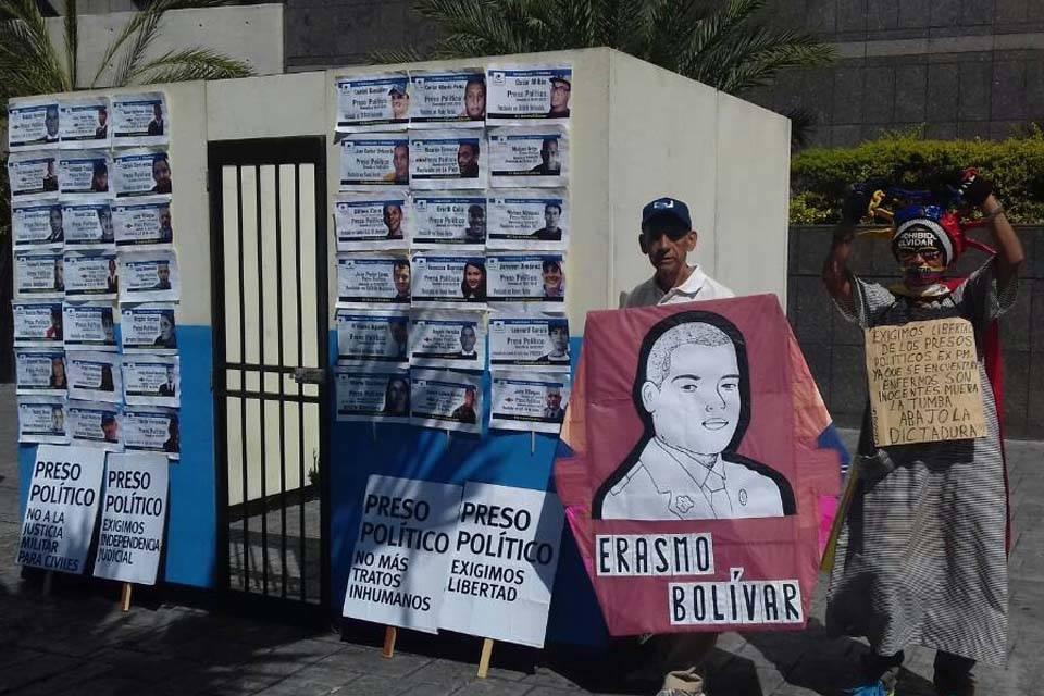 Protesta presos políticos Foro Penal