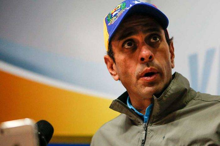 """Capriles pide reevaluar estrategia opositora sin las instransigencias ni los """"te lo dije"""""""