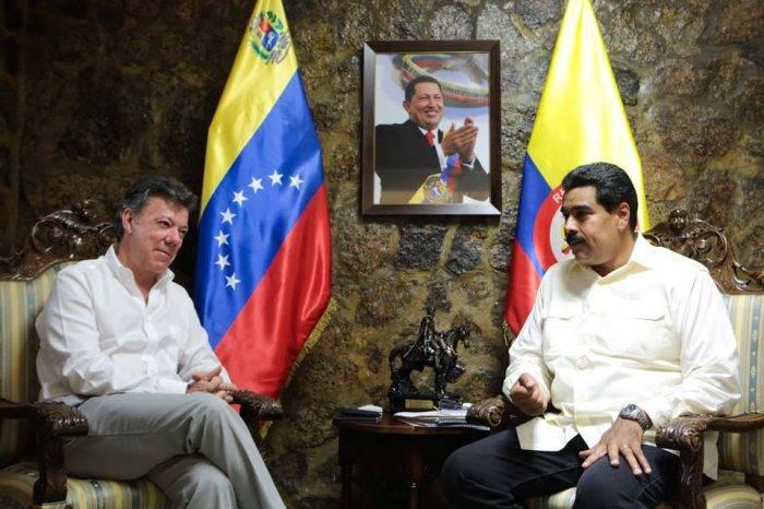 """Ministro colombiano asegura que no hay """"ambiente"""" para reunión Santos-Maduro"""