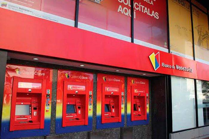 Banco de Venezuela incrementará montos para retiro de efectivo por taquillas