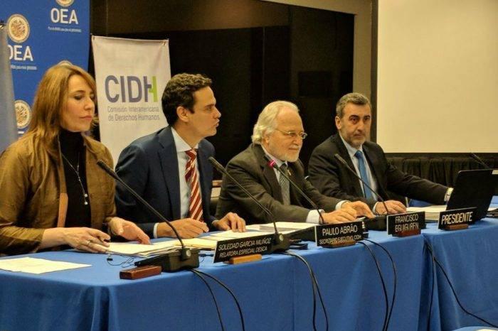 """CIDH advierte sobre """"alarmante"""" deterioro de la democracia en Venezuela"""