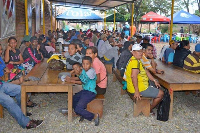 Centro para migrantes venezolanos en Cúcuta