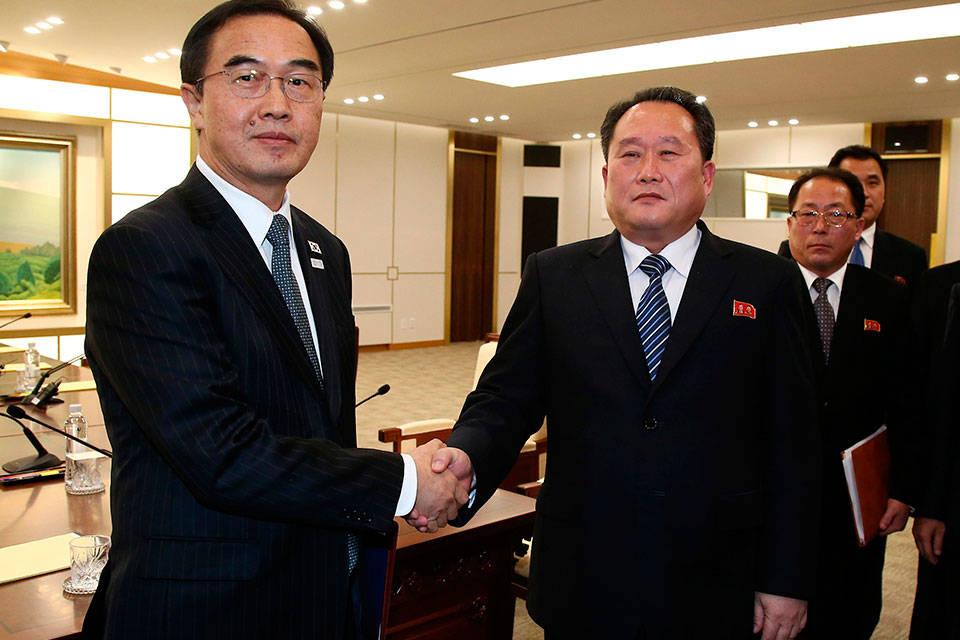 Corea del Norte y del Sur