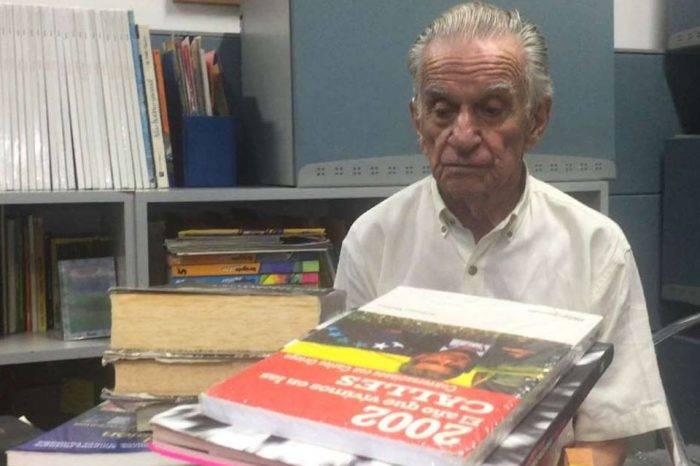El hombre que amaba a los libros, por Elizabeth Araujo y Omar Pineda