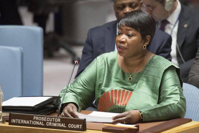 Fatou Bensouda fiscal Corte Penal Internacional