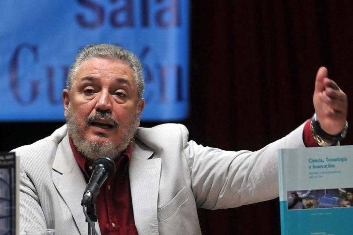 Se suicidó hijo de Fidel Castro