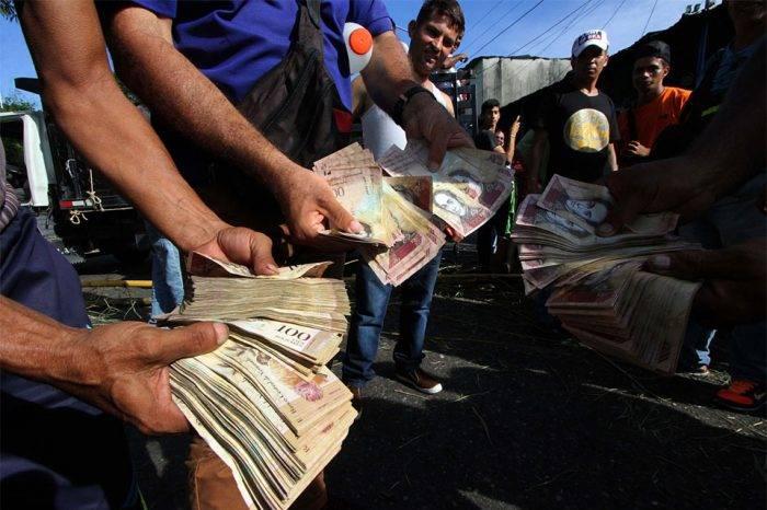 Inflación anualizada de 2018 supera los 6.000%