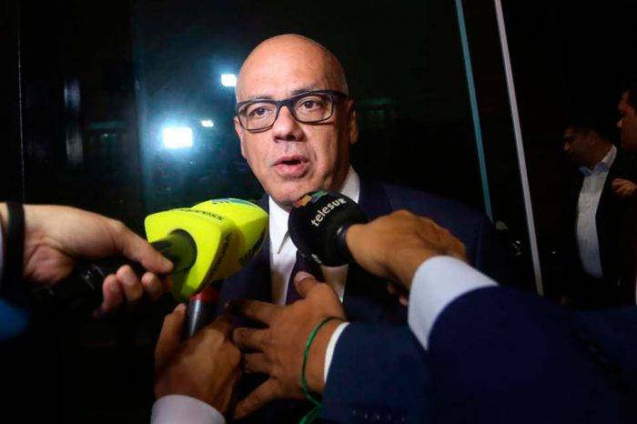 Jorge Rodríguez: el pueblo venezolano se opone a las agresiones de EEUU