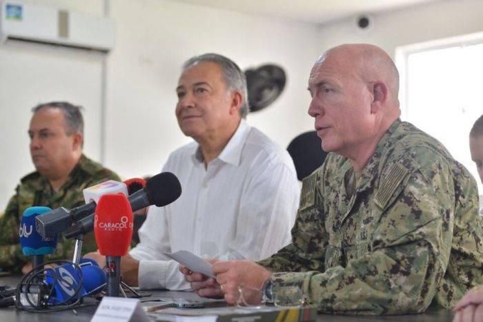 Jefe del Comando Sur de EEUU se reunió con vicepresidente de Colombia