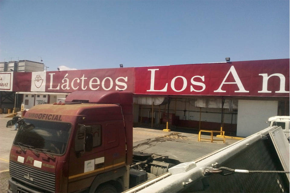 Leche de Lácteos Los Andes