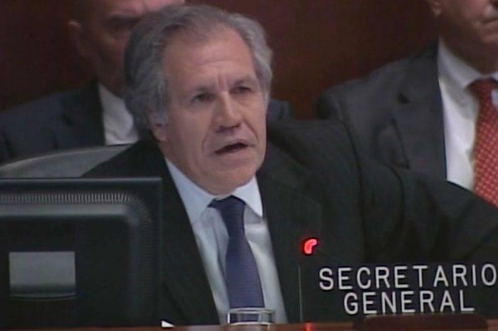 """Almagro promete justicia a víctimas de """"represión cubana"""" en Venezuela y Nicaragua"""