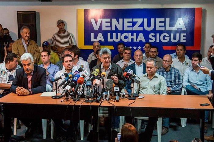 MUD espera convocar a firmazos y marchas junto al Frente Amplio Nacional