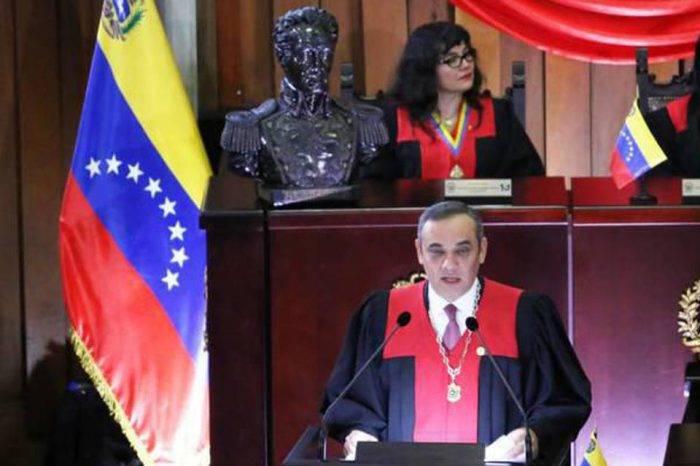 Maikel Moreno: en Venezuela se está gestando un golpe de estado