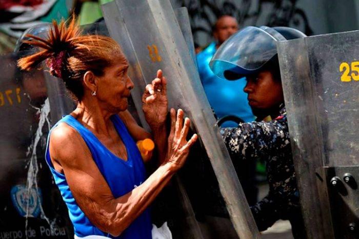 Protestas por hambre