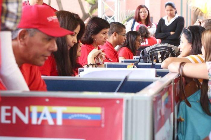 Seniat rebasó su objetivo de ingresos establecidos para enero
