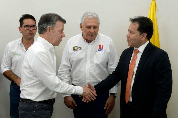"""Santos busca implementar """"plan de choque"""" para atender a venezolanos"""